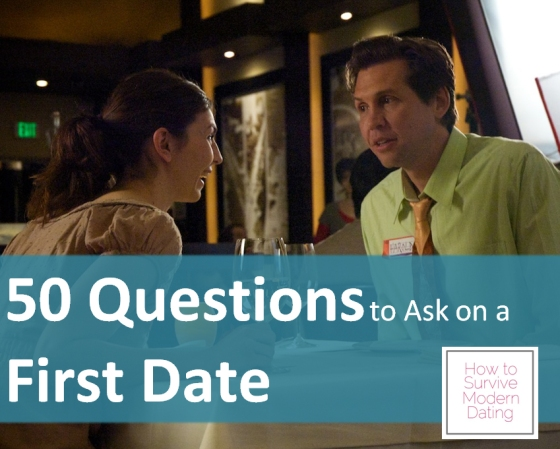 50 Questions to Ask on a First Date