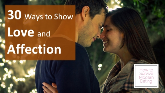 30 Ways to Show Love and Affection
